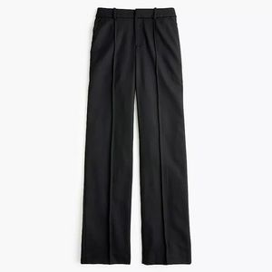 J Crew 6 TALL Wool Flannel Full Length Trouser NWT